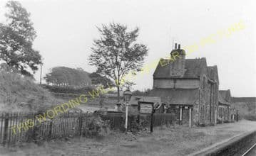 Arkholme Railway Station Photo. Melling - Bowick. Wennington to Carnforth. (4)