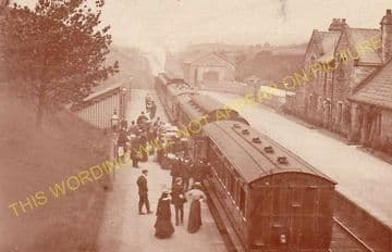 Arkholme Railway Station Photo. Melling - Bowick. Wennington to Carnforth. (5)