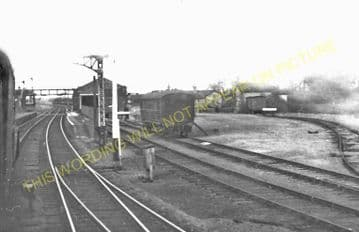 Arlesey & Henlow Railway Station Photo. Three Counties - Biggleswade. GNR. (2)