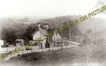 Arley Railway Station Photo. Bewdley - Highley. Hampton Loade Line. GWR. (3)