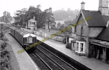 Arley Railway Station Photo. Bewdley - Highley. Hampton Loade Line. GWR. (6)