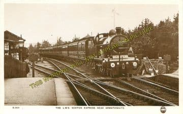 Armathwaite Railway Station Photo. Lazonby & Kirkoswald- Cotehill. (3)