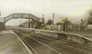 Arnside Railway Station Photo. Grange-over-Sands to Sandside Line. (11)