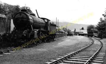 Arrochar & Tarbet Railway Station Photo. Whistlefield - Ardlui. (3)