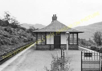 Arrochar & Tarbet Railway Station Photo. Whistlefield - Ardlui. (7)