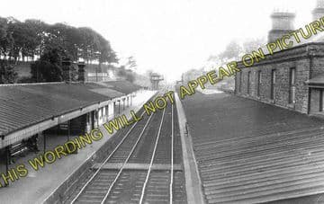 Arundel Railway Station Photo. Ford Jct - Amberley. Pulborough Line. LB&SCR (1)