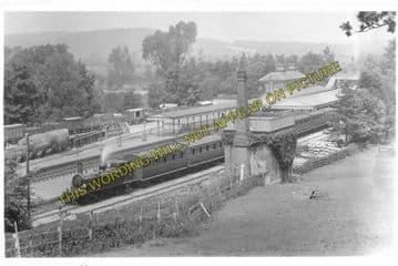 Arundel Railway Station Photo. Ford Jct - Amberley. Pulborough Line. LB&SCR (4)