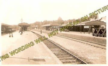 Ascot & Sunninghill Railway Station Photo. Bracknell - Sunningdale. L&SWR (1)