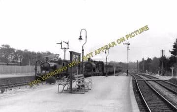 Ascot & Sunninghill Railway Station Photo. Bracknell - Sunningdale. L&SWR (10)