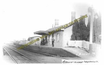 Ascott-under-Wychwood Railway Station Photo. Charlbury - Shipton. (6)