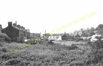 Ashbourne Railway Station Photo. Clifton - Thorpe Cloud. Rocester Line (11)..