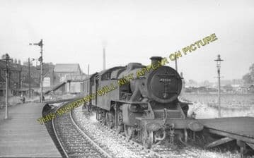 Ashbourne Railway Station Photo. Clifton - Thorpe Cloud. Rocester Line (6)