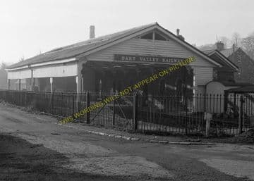 Ashburton Railway Station Photo. Buckfastleigh, Staverton and Totnes Line. (15)