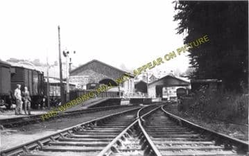 Ashburton Railway Station Photo. Buckfastleigh, Staverton and Totnes Line. (5)