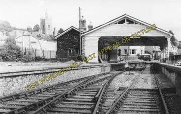 Ashburton Railway Station Photo. Buckfastleigh, Staverton and Totnes Line. (9)