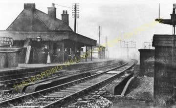 Ashbury's Railway Station Photo. Ardwick - Gorton. Manchester to Fairfield. (4)