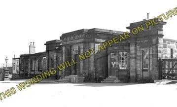 Ashby-de-la-Zouch Railway Station Photo. Swannington to Moira & Worthington (2)