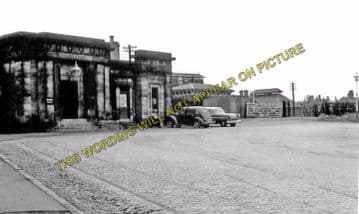 Ashby-de-la-Zouch Railway Station Photo. Swannington to Moira & Worthington (5)