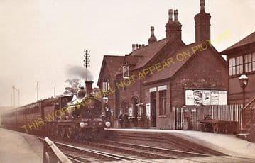 Ashby-de-la-Zouch Railway Station Photo. Swannington to Moira & Worthington (7)