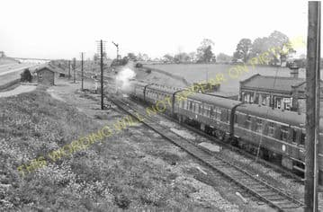 Ashby Magna Railway Station Photo. Lutterworth - Whetstone. Great Central. (3)