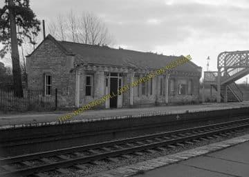 Ashchurch Railway Station Photo. Cleeve to Tewkesbury Bredon and Beckford. (16)