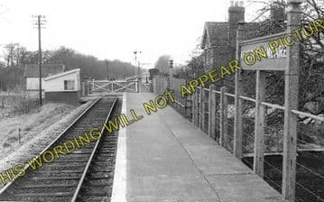 Ashcott & Meare Railway Station Photo. Glastonbury - Shapwick. S&DJR. (1)
