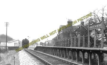 Ashcott & Meare Railway Station Photo. Glastonbury - Shapwick. S&DJR. (2)