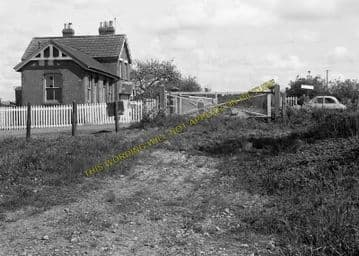 Ashcott & Meare Railway Station Photo. Glastonbury - Shapwick. S&DJR. (6)