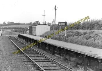 Ashdon Railway Station Photo. Bartlow - Saffron Walden. Audley End Line. (1)