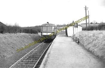 Ashdon Railway Station Photo. Bartlow - Saffron Walden. Audley End Line. (3)