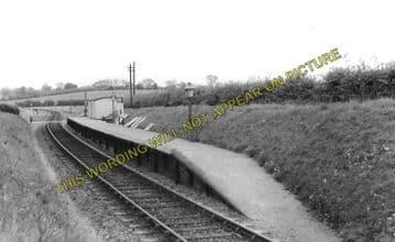 Ashdon Railway Station Photo. Bartlow - Saffron Walden. Audley End Line. (4)