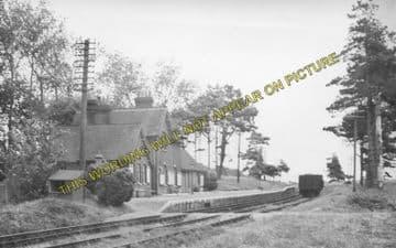 Ashey Railway Station Photo. Ryde - Haven Street. Newport Line. (3)