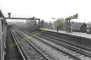 Ashford Railway Station Photo. Pluckley - Smeeth Line. SE&CR. (12)