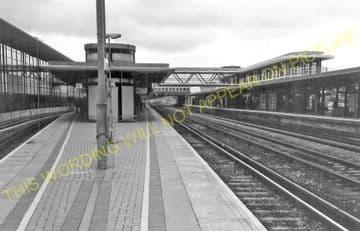 Ashford Railway Station Photo. Pluckley - Smeeth Line. SE&CR. (14)