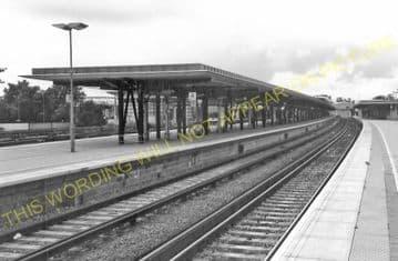 Ashford Railway Station Photo. Pluckley - Smeeth Line. SE&CR. (15)