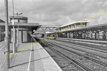 Ashford Railway Station Photo. Pluckley - Smeeth Line. SE&CR. (18)