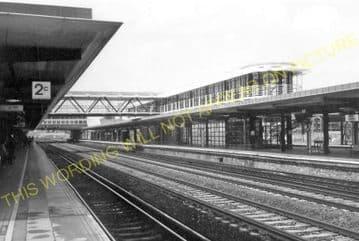 Ashford Railway Station Photo. Pluckley - Smeeth Line. SE&CR. (19)