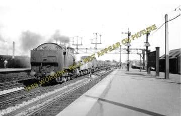 Ashford Railway Station Photo. Pluckley - Smeeth Line. SE&CR. (5)