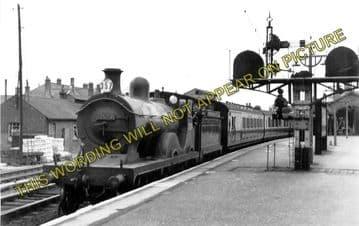 Ashford Railway Station Photo. Pluckley - Smeeth Line. SE&CR. (8)