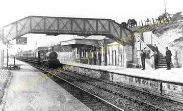 Ashley Hill Railway Station Photo. Stapleton Road - Filton. Patchway Line. (1)..