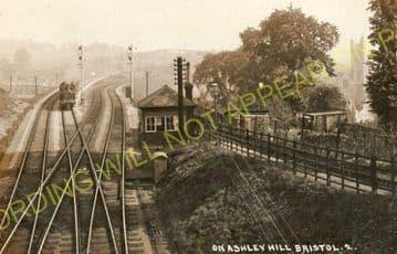 Ashley Hill Railway Station Photo. Stapleton Road - Filton. Patchway Line. (13)