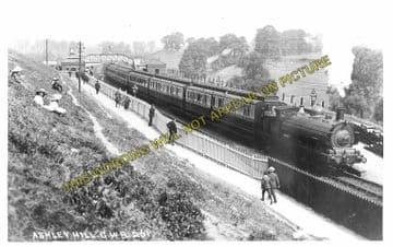 Ashley Hill Railway Station Photo. Stapleton Road - Filton. Patchway Line. (2)