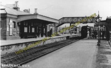 Ashley Hill Railway Station Photo. Stapleton Road - Filton. Patchway Line. (5)
