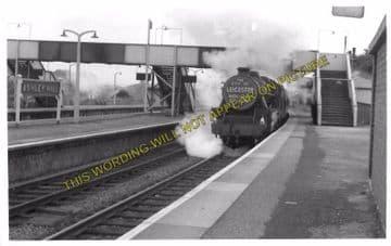 Ashley Hill Railway Station Photo. Stapleton Road - Filton. Patchway Line. (6)