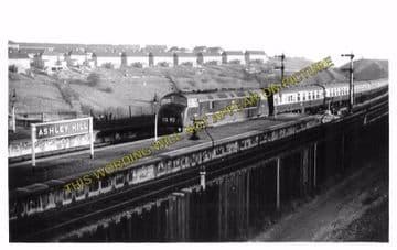 Ashley Hill Railway Station Photo. Stapleton Road - Filton. Patchway Line. (8)