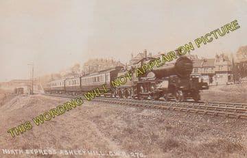 Ashley Hill Railway Station Photo. Stapleton Road - Filton. Patchway Line. (9)