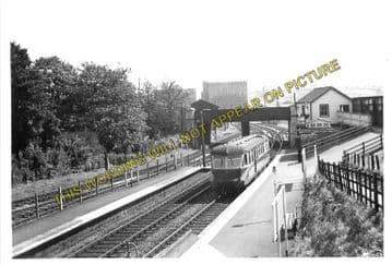 Ashton Gate Railway Station Photo. Bristol - Portishead. Great Western Rly. (4)