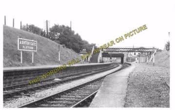 Ashton Gate Railway Station Photo. Bristol - Portishead. Great Western Rly. (5)