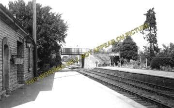 Ashton-Under-Hill Railway Station Photo. Beckford - Hinton. Eversham Line. (1)