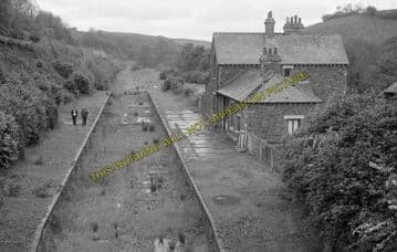 Ashwater Railway Station Photo. Halwill Junction - Tower Hill. (7)